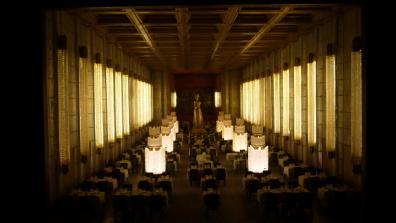 Grande salle du restaurant du paquebot Normandie version miniature (Dan Ohlmann)