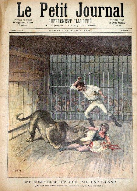 Grenoble - Foire des Rameaux - Le Petit Journal Supplément illustré du Samedi 25 avril 1891