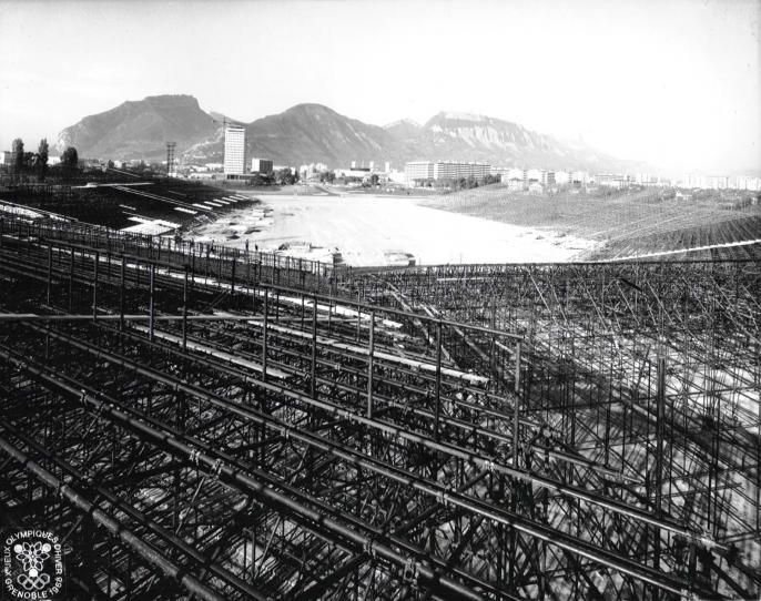 Grenoble Stade Olympique Structure Métallique