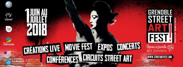 Grenoble Street Art Fest ! 2018