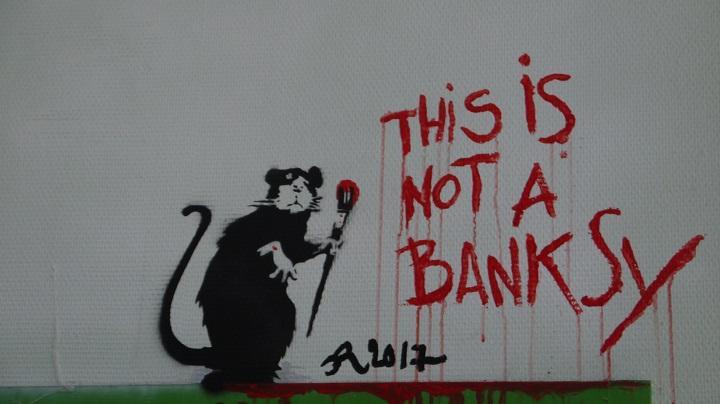 Grenoble Street Art - Lieu Ephémère 2017 - This is not a banksy