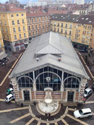 Halles Sainte-Claire (Source : Page Facebook des Halles)