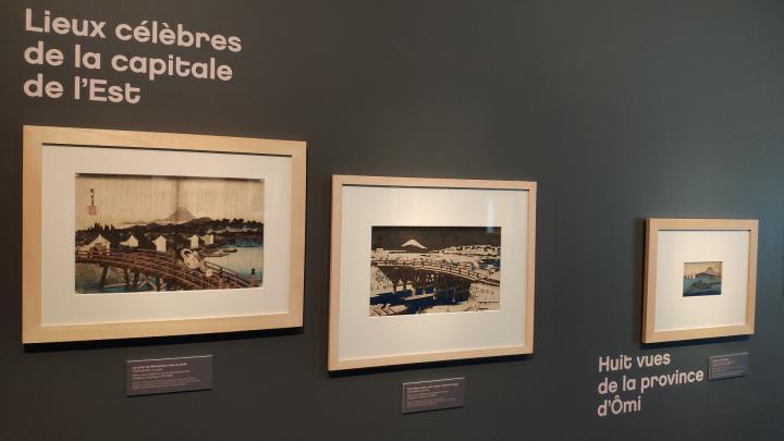 Hiroshige - Lieux célèbres de la capitale de l'Est