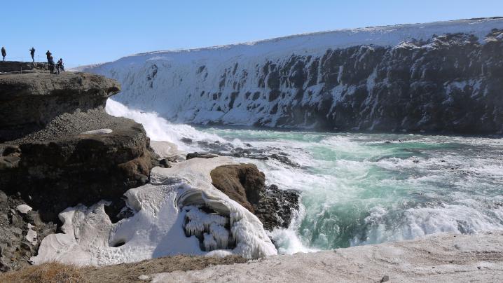 Islande cascade de gullfoss 4