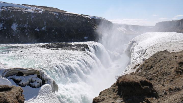 Islande cascade de gullfoss 5