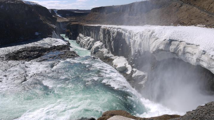 Islande cascade de gullfoss 6