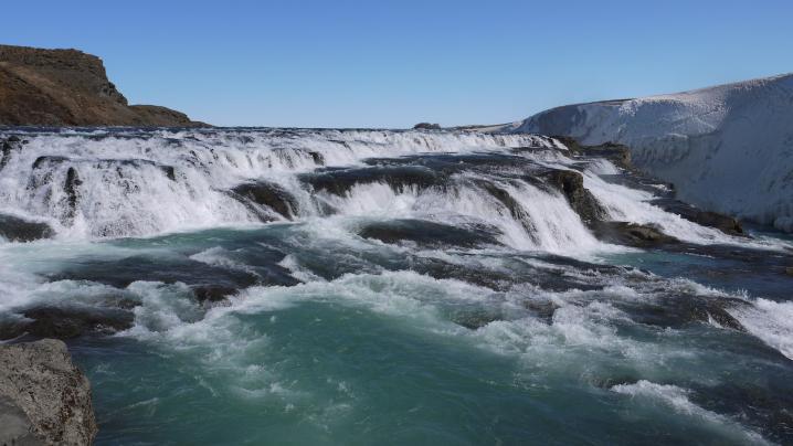 Islande - Chute de gullfoss