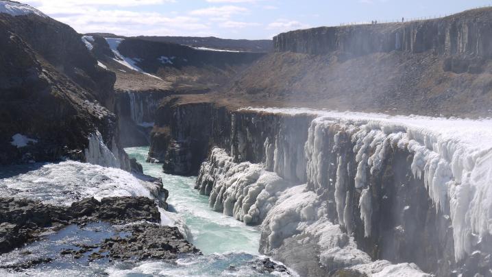 Islande cascade de gullfoss 9
