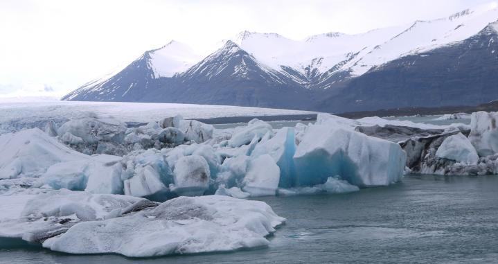 Islande - Lagune glaciaire de Jökulsarlon - Icebergs bleus