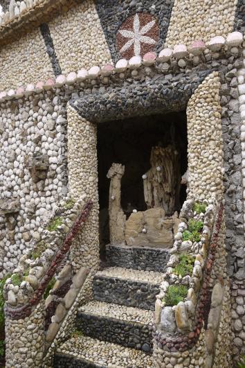 Jardin Rosa Mir - Chapelle Vierge Marie