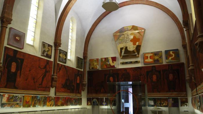 La nef de l'Eglise Saint Hugues de Chartreuse