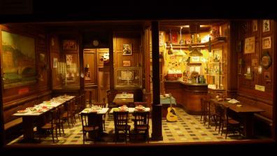 Le bouchon lyonnais miniature (Dan Ohlmann)
