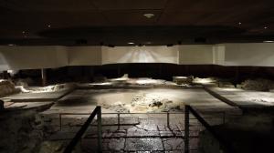 Le Baptistère de Grenoble, sous le Musée de l'Ancien Evêché