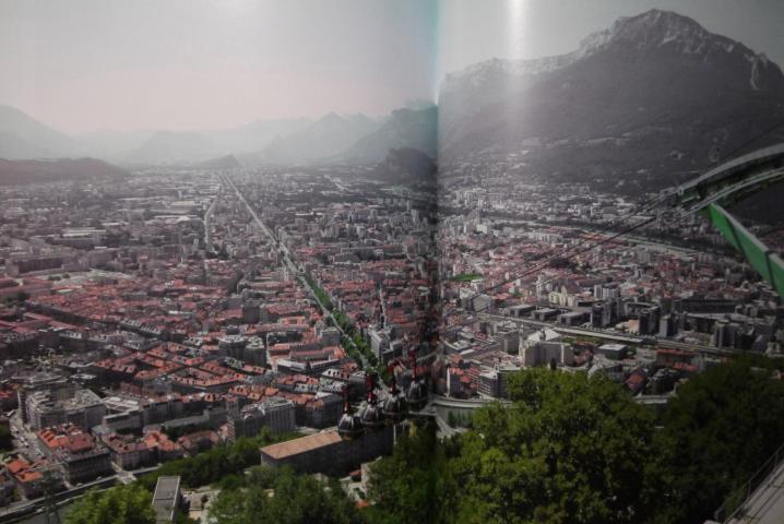 Livre La Bastille de Grenoble et son téléphérique - Le panorama
