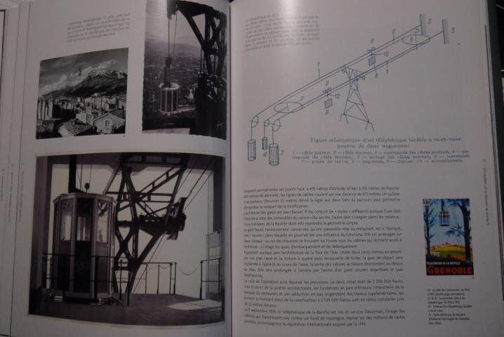 Livre La Bastille de Grenoble et son téléphérique - Le téléphérique (p82-83)