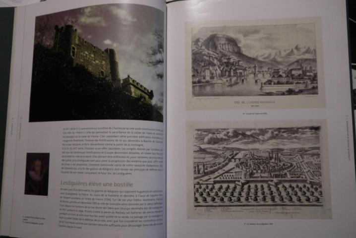 Livre La Bastille de Grenoble et son téléphérique - Lesdiguieres (p26-27)