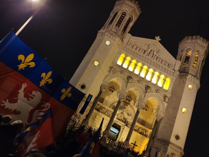 Lyon - Fête des Lumières 2018 - Basilique de Fourvière