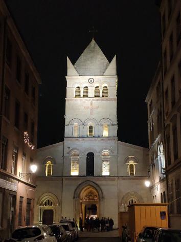 Lyon - Fête des Lumières 2018 - Basilique Saint Martin d'Ainay