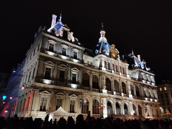 Lyon - Fête des Lumières 2018 - Chambre du commerce