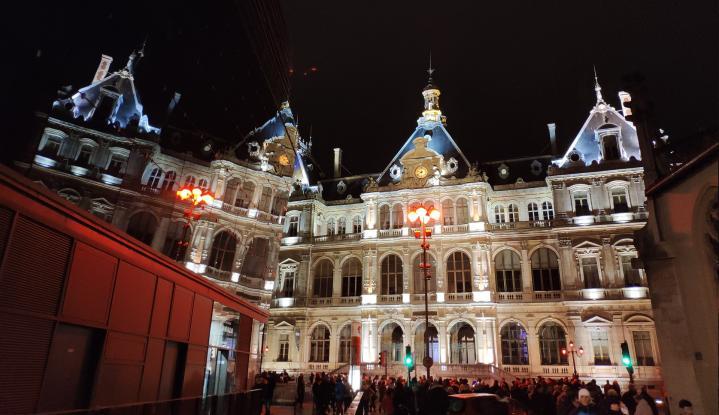 Lyon - Fête des Lumières 2018 - Jeu de reflets