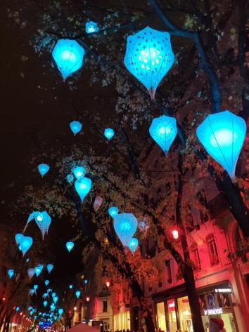 Lyon - Fête des Lumières 2018 - Lampions