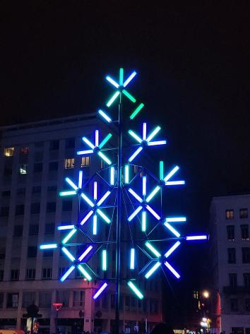 Lyon - Fête des Lumières 2018 - Place de la République