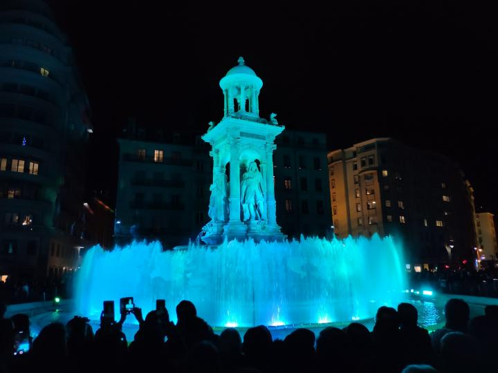 Lyon - Fête des Lumières 2018 - Place des Jacobins