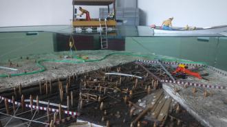 Musee archéologique du lac de Paladru - Les fouilles archéologiques