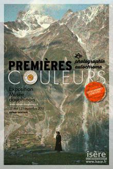Musee dauphinois premieres couleurs la photographie autochrome