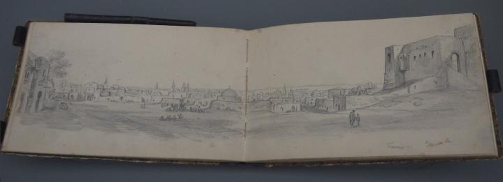 Musee de Grenoble - De Delacroix à Gauguin - Carnet de voyage en Tunisie 1861-1863, Alexandre Debelle