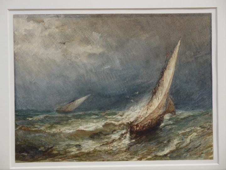 Musee de Grenoble - De Delacroix à Gauguin - Gros temps (marine) (Félix Ziem)
