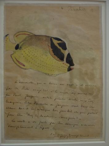 Musee de Grenoble - De Delacroix à Gauguin - Paraha (Gauguin, verso, 1892)