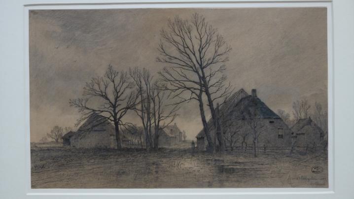 Musée de Grenoble - De Delacroix à Gauguin - Paysage hollandais (Alphonse Stengelin 1885)
