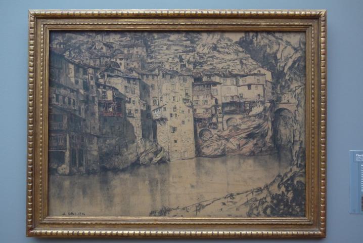 Musee de Grenoble - De Delacroix à Gauguin - Pont-en-Royans - Charles Cottet