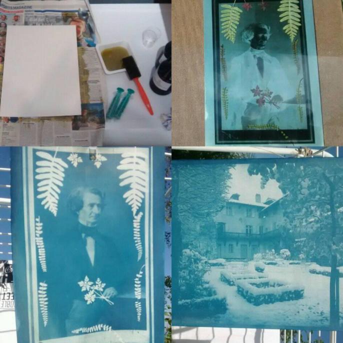 Musee hector berlioz atelier cyanotypes