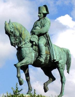 Napoleon statue equestre