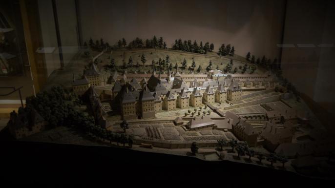 Maquette du Monastère de la Grande Chartreuse