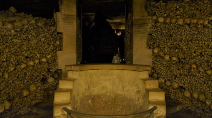 Paris - Catacombes - Fontaine dite de