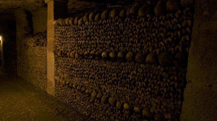Paris - Catacombes - Une construction parfaite !