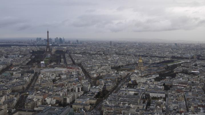 Paris - Panorama vu du sommet de la Tour Montparnasse