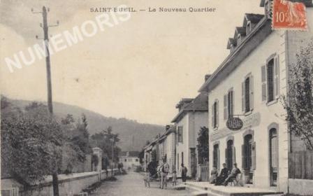 Saint Bueil Nouveau quartier