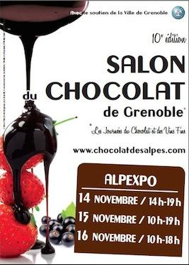 Salon chocolat grenoble