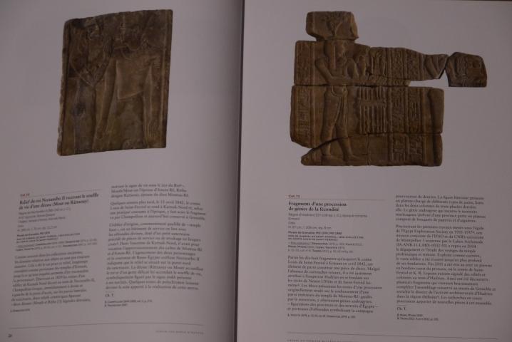 Servir les dieux d'Egypte - Présentation des objets de l'exposition