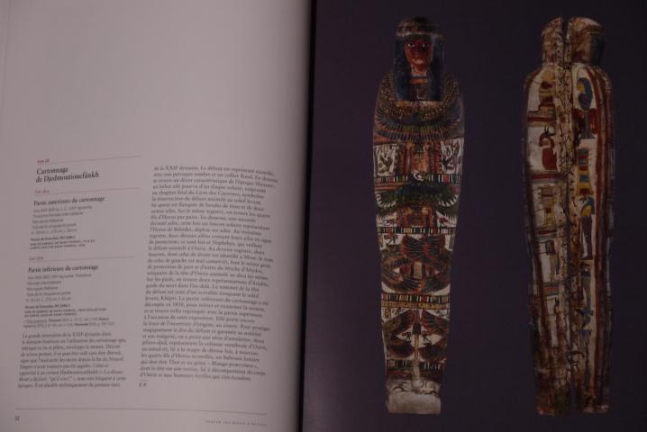 Servir les dieux d'Egypte - Présentation détaillée des objets de l'exposition