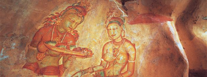 Sri lanka - Les demoiselles de Sigiriya