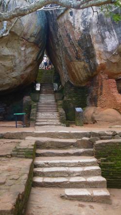 Sri Lanka - Premières marches Sigiriya