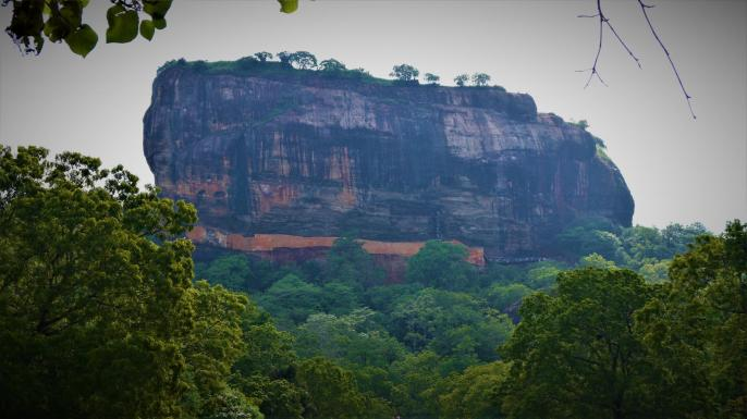 Sri Lanka - Rocher de Sigiriya