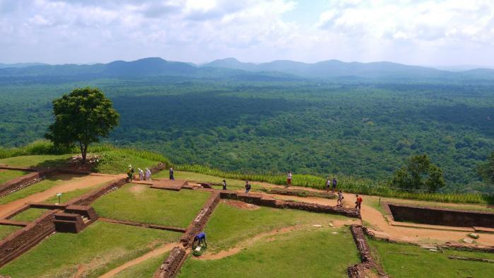 Sri Lanka - Sigiriya - Panorama nord est 1 sur 3