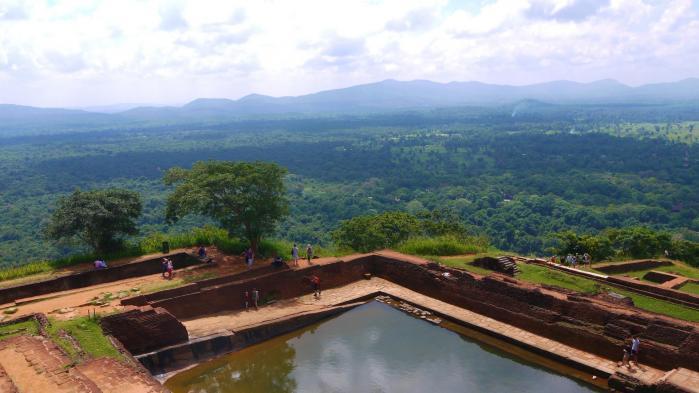 Sri Lanka - Sigiriya - Panorama nord est 2 sur 3