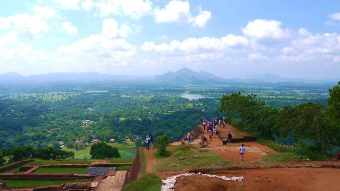 Sri Lanka - Sigiriya - Panorama nord est 3 sur 3
